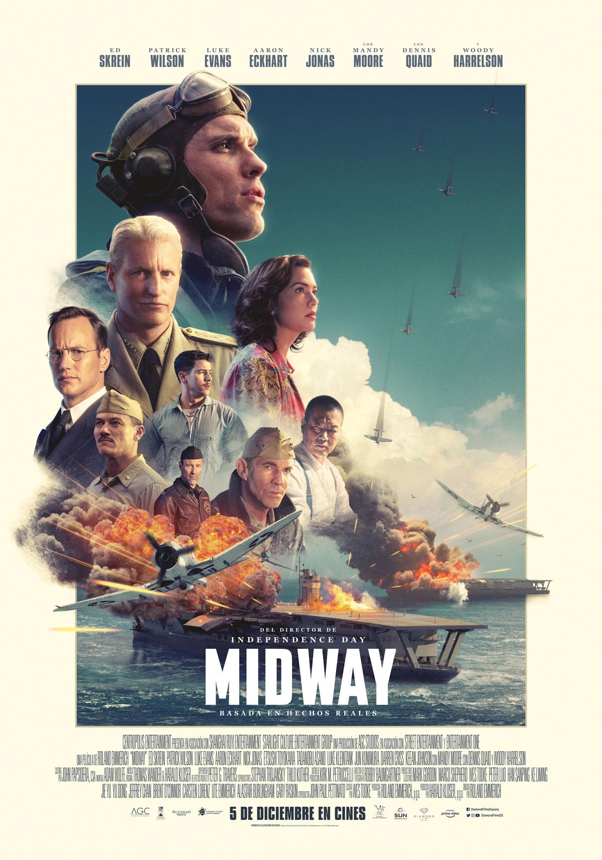 Midway Pelicula 2019 Sensacine Com