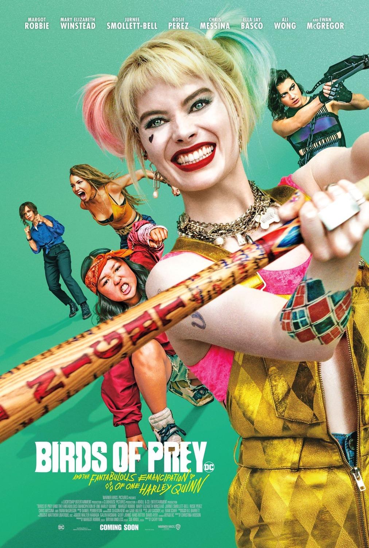 Cartel de Aves de Presa (y la fantabulosa emancipación de Harley ...