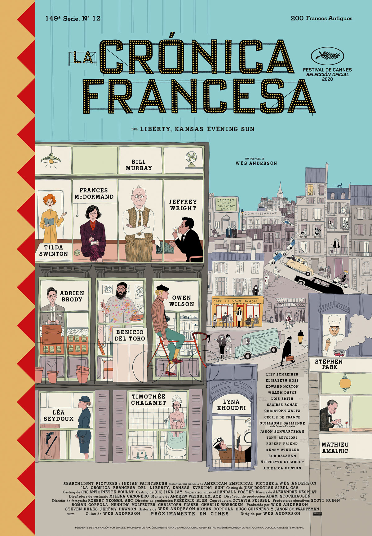 Poster La Cronica Francesa