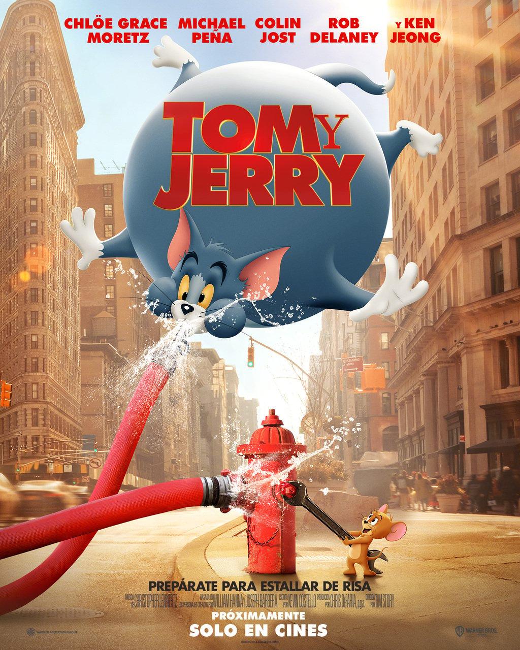 Reparto Tom Y Jerry Equipo Tecnico Produccion Y Distribucion Sensacine Com