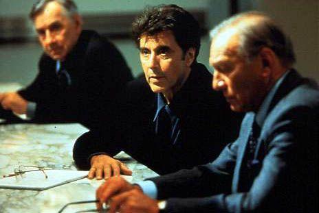 El dilema (The Insider): Christopher Plummer, Al Pacino, Philip Baker Hall