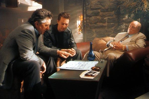 The Score (Un golpe maestro): Robert De Niro, Edward Norton, Marlon Brando