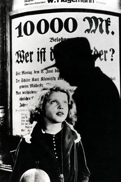 M, El vampiro de Düsseldorf : Foto Peter Lorre
