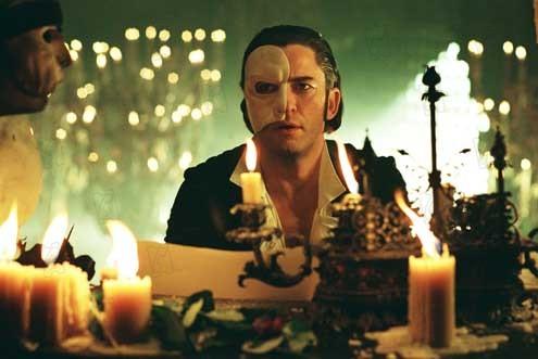 El fantasma de la Ópera de Andrew Lloyd Webber : Foto Gerard Butler