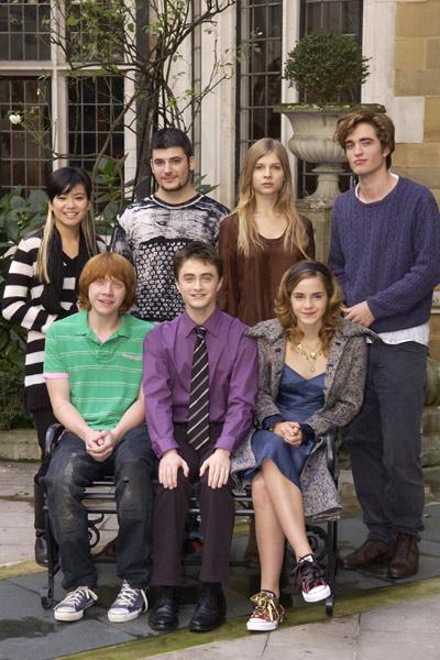 Harry Potter y el Cáliz de Fuego : Foto Clémence Poésy, Daniel Radcliffe, Emma Watson, Katie Leung, Robert Pattinson