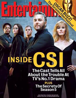CSI: Las Vegas : Couverture magazine