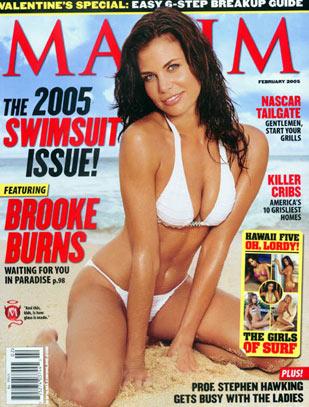 North Shore : Couverture magazine Brooke Burns