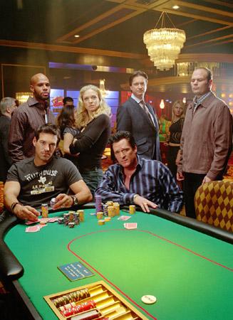 Foto Chris Bauer, Don McManus, Eddie Cibrian, Kristin Lehman, Michael Madsen
