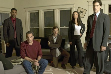 Mentes criminales : Foto Lola Glaudini, Mandy Patinkin, Matthew Gray Gubler, Shemar Moore, Thomas Gibson