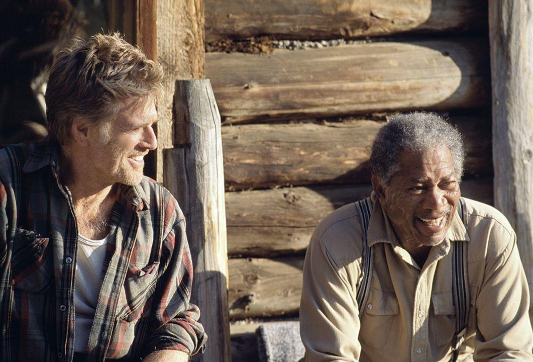 Una vida por delante: Morgan Freeman, Robert Redford