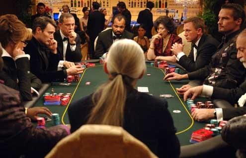 Casino Royale : Foto Daniel Craig, Jeffrey Wright, Mads Mikkelsen