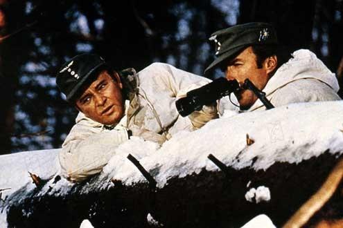 El desafío de las águilas: Clint Eastwood, Brian G. Hutton