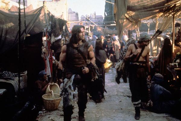 Conan el bárbaro: Arnold Schwarzenegger, John Milius, Robert E. Howard