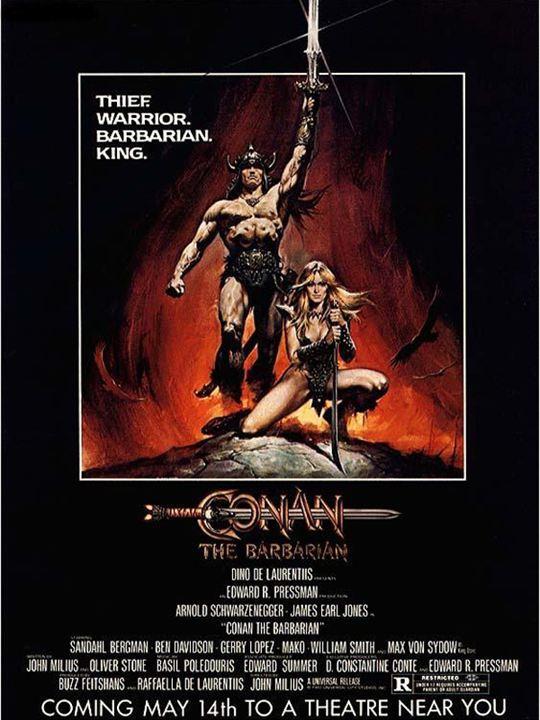Conan el bárbaro: John Milius, Robert E. Howard
