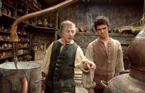 El perfume: Historia de un asesino: Dustin Hoffman, Ben Whishaw, Tom Tykwer