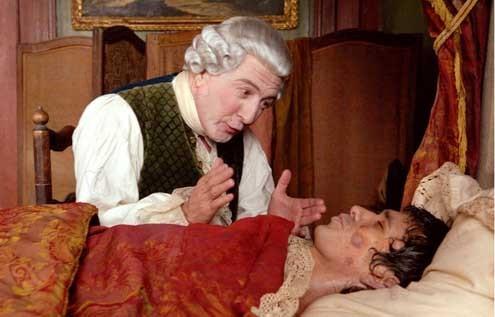 El perfume: Historia de un asesino: Dustin Hoffman, Tom Tykwer