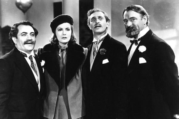 Ninotchka: Greta Garbo, Felix Bressart, Alexander Granach