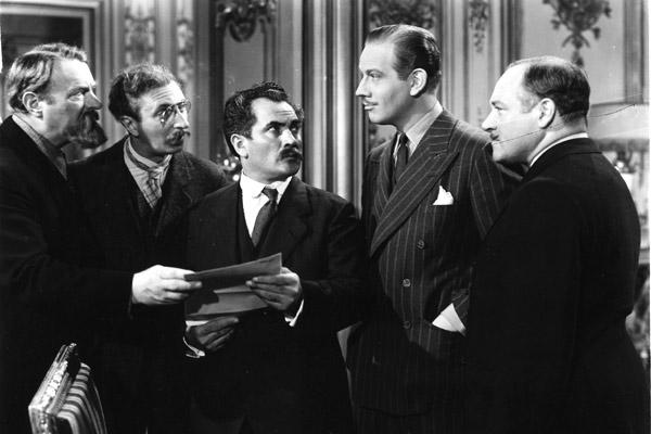 Ninotchka: Melvyn Douglas, Felix Bressart, Alexander Granach