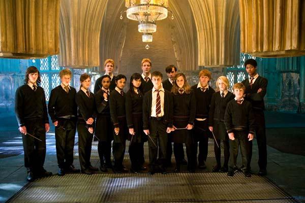 Harry Potter y la Orden del Fénix : Foto Afshan Azad, Bonnie Wright, Daniel Radcliffe, Emma Watson, Evanna Lynch