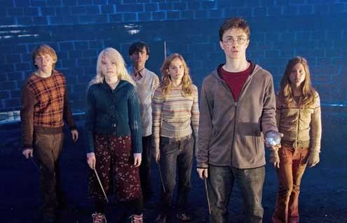 Harry Potter y la Orden del Fénix : Foto Daniel Radcliffe, Emma Watson, Evanna Lynch, Rupert Grint