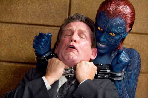 X-Men: La decisión final : Foto Anthony Heald, Rebecca Romijn