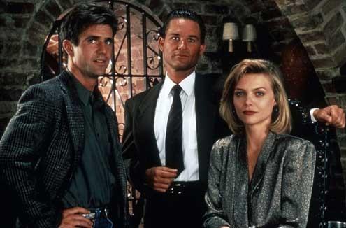 Conexión Tequila : Foto Kurt Russell, Mel Gibson, Michelle Pfeiffer, Robert Towne