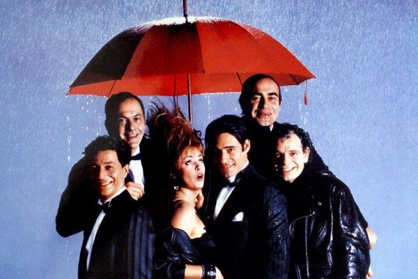 Foto Christian Clavier, Gérard Lanvin, Jean-Pierre Bacri, Jean-Pierre Darroussin, Louise Portal