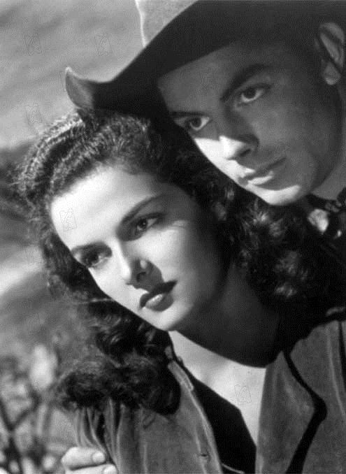 El forajido : Foto Howard Hughes, Jane Russell