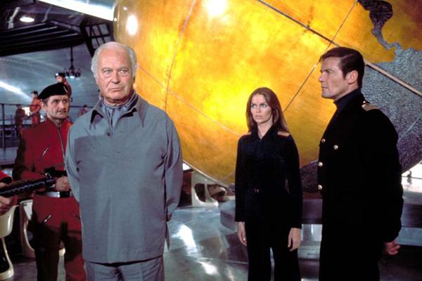 La espía que me amó : Foto Barbara Bach, Curd Jürgens, Roger Moore