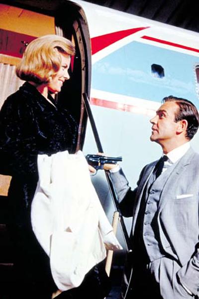 James Bond contra Goldfinger : Foto Honor Blackman, Sean Connery