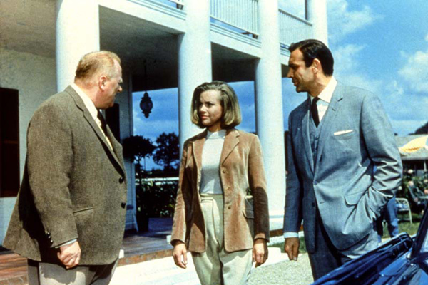 James Bond contra Goldfinger : Foto Gert Fröbe, Honor Blackman, Sean Connery