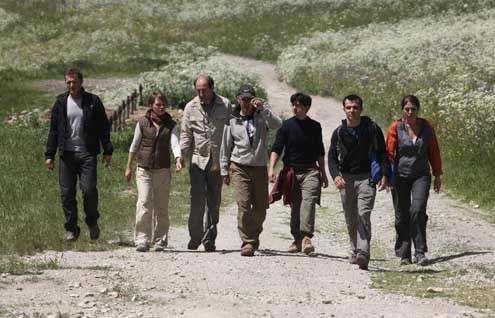 Foto Arnaud Henriet, Bruno Solo, Jean-Noël Brouté, Kad Merad, Philippe Lefebvre