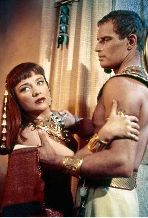 Los Diez Mandamientos : Foto Anne Baxter, Cecil B. DeMille, Charlton Heston