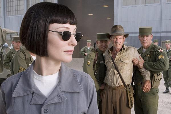 Indiana Jones y el Reino de la Calavera de Cristal : Foto Andrew Divoff, Cate Blanchett, Harrison Ford