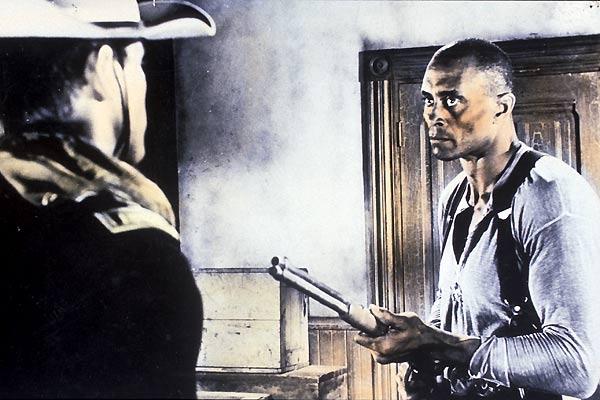 El sargento negro: Woody Strode, John Ford