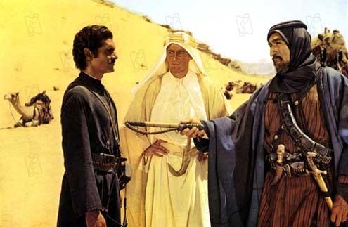 Lawrence de Arabia: Anthony Quinn, Omar Sharif, Peter O'Toole