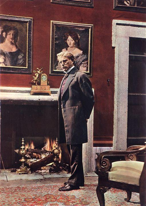 El Gatopardo: Burt Lancaster, Luchino Visconti