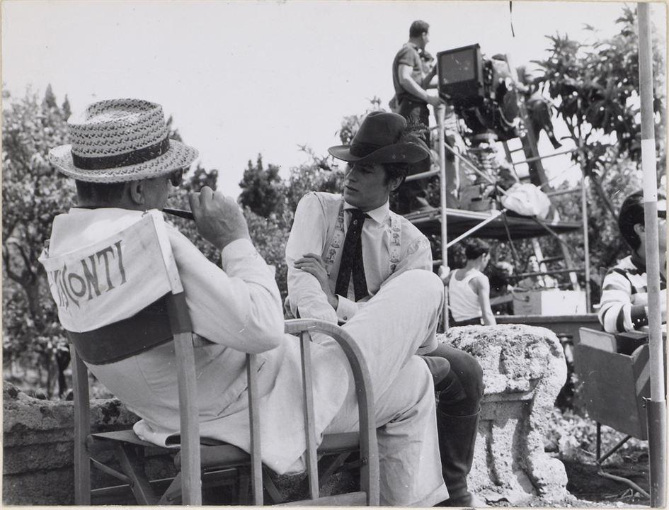 El Gatopardo: Luchino Visconti, Alain Delon