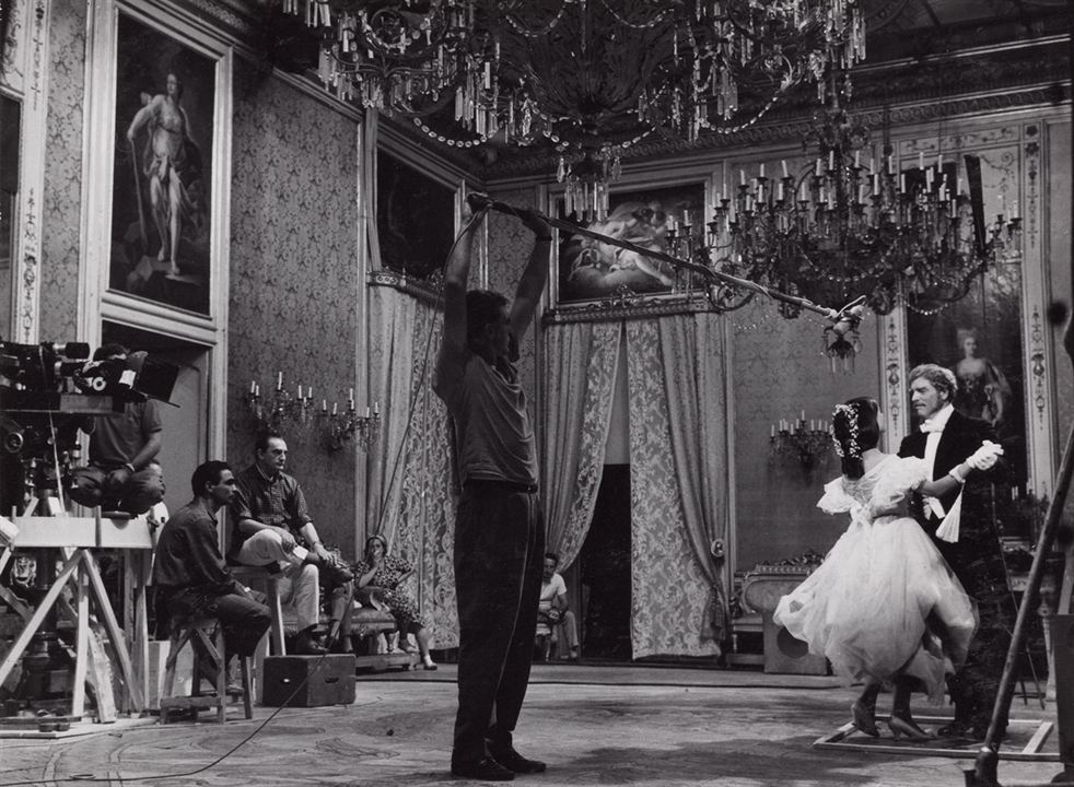 El Gatopardo: Claudia Cardinale, Burt Lancaster, Luchino Visconti