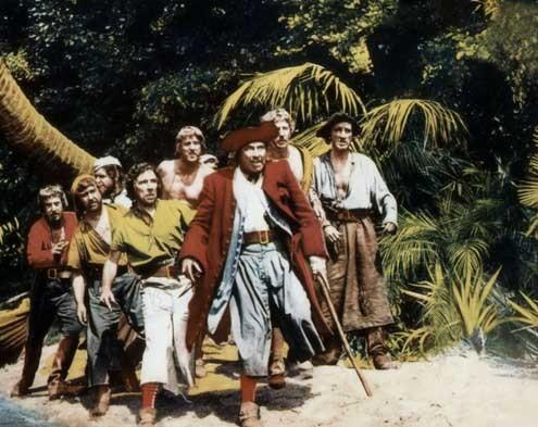 La isla del tesoro: Robert Newton, Byron Haskin