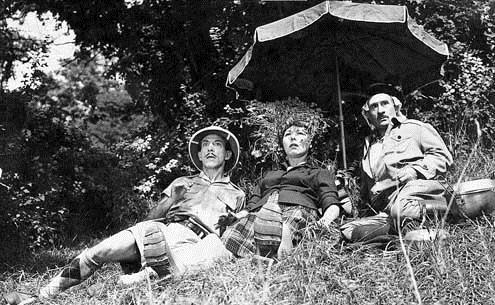 Foto Guy Lacourt, Noël Roquevert, Raymond Bussières