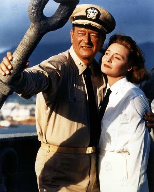 Primera victoria : Foto John Wayne, Otto Preminger, Patricia Neal