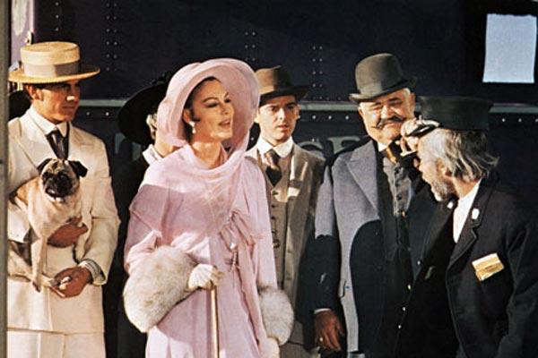 El juez de la horca: John Huston, Ava Gardner