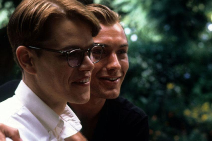 El talento de Mr. Ripley: Matt Damon, Jude Law