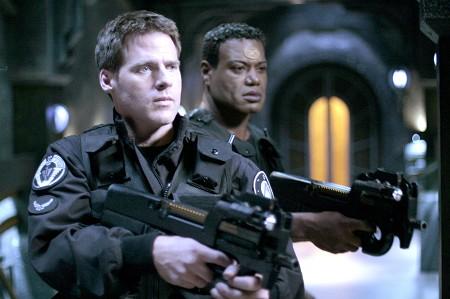 Stargate SG 1 : Foto Ben Browder, Christopher Judge