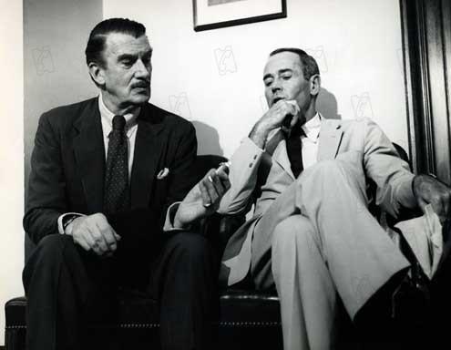 Tempestad sobre Washington : Foto Henry Fonda, Otto Preminger, Walter Pidgeon