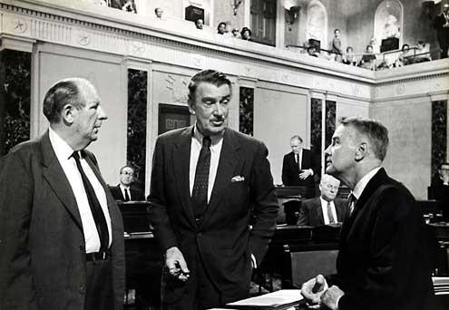 Tempestad sobre Washington : Foto Otto Preminger, Walter Pidgeon