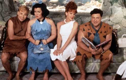 Los Picapiedra : Foto Elizabeth Perkins, John Goodman, Rick Moranis, Rosie O'Donnell