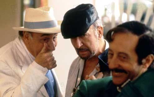 Cómicos en apuros: Jean Rochefort, Philippe Noiret, Jean-Pierre Marielle
