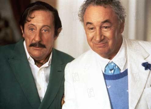 Cómicos en apuros: Philippe Noiret, Jean Rochefort